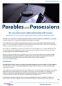 Parable and Possessions - Lent study guide
