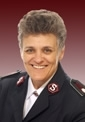 Betty Mattear, Salvation Army Commissioner and Moderator of the Free Churches