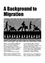 Background to migration