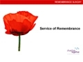 Remembrance Sunday Powerpoint presentation