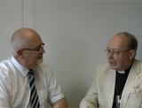 Revd Bob Fyffe and Bishop of Guildford