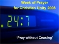 screen from the Week of Prayer for Christian Unity Powerpoint presentation