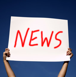 a sign saying \'News\'