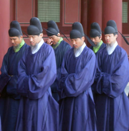 Korean temple guards