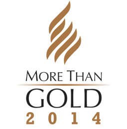 More Than Gold 2014 logo