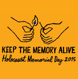 Holocaust Memorial Day 2015
